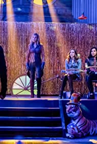 Corinne Bohrer, Danielle Panabaker, Devon Graye, Hartley Sawyer, and Carlos Valdes in The Flash (2014)