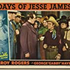Roy Rogers, Fred Burns, Arthur Loft, Ethel Wales, Dan White, and Harry Woods in Days of Jesse James (1939)