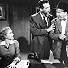 Fred MacMurray, Dorothy McGuire, and Jesse White in Callaway Went Thataway (1951)
