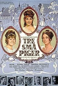 Daimi, Malene Schwartz, and Susse Wold in Tre små piger (1966)