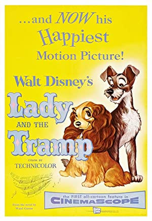 Lady and the Tramp 1955 Movie Poster