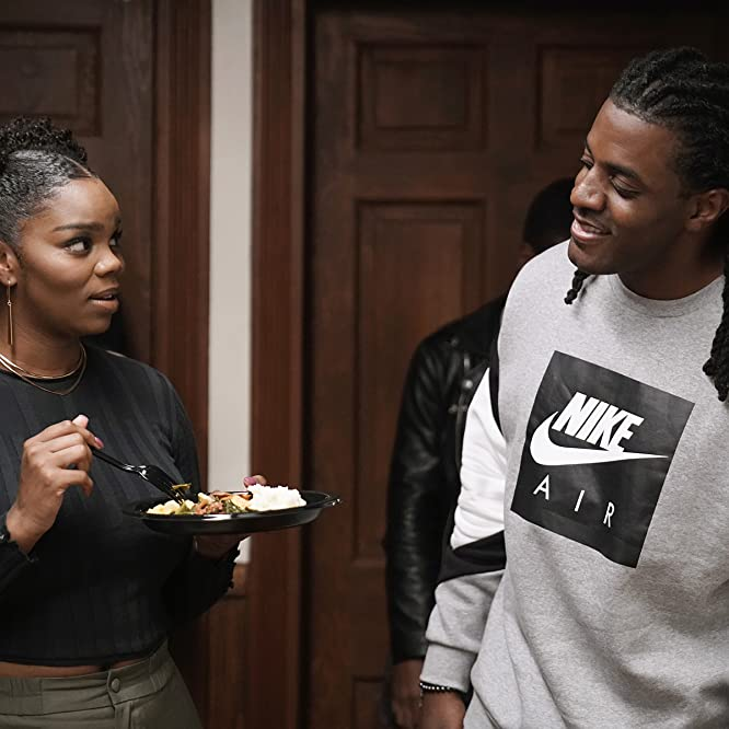 Dayo Abanikanda and Brittany Inge in Boomerang (2019)