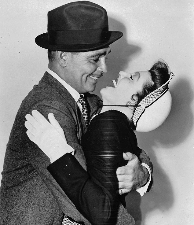 Clark Gable and Loretta Young at an event for Key to the City (1950)
