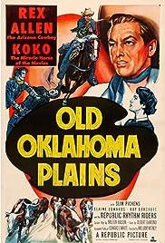 Old Oklahoma Plains Poster