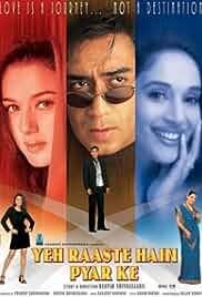 Yeh Raaste Hain Pyaar Ke (2001) Hindi 720p HEVC HDRip x265 AAC ESubs Full Bollywood Movie [850MB]