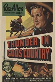 Thunder in God's Country Poster