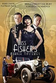 Essie Davis, Nathan Page, and Hugo Johnstone-Burt in Miss Fisher's Murder Mysteries (2012)
