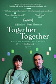 Ed Helms and Patti Harrison in Together Together (2021)
