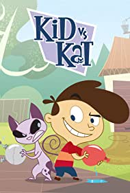 Kathleen Barr and Erin Mathews in Kid vs. Kat (2008)