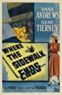 Where the Sidewalk Ends (1950) Poster