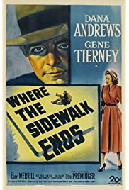 Where the Sidewalk Ends (1950) filme kostenlos