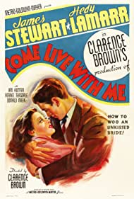 James Stewart and Hedy Lamarr in Come Live with Me (1941)