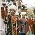 Sener Sen, Ahmet Ariman, and Feridun Savli in Hababam Sinifi Dokuz Doguruyor (1978)