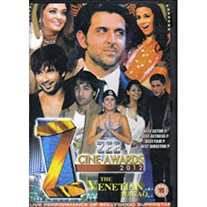 Movie television watching Zee Cine Awards 2012 [480i]