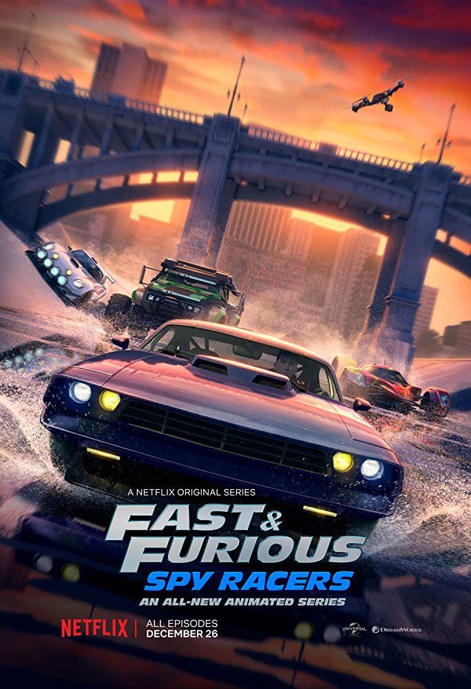 Fast and Furious Spy Racers 2019 S01 Dual Audio [Hindi-DD5.1] 600MB NF WEB-DL 480p Download