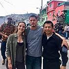 Hansel Ramirez,  Carla Baratta and  JD Pardo in Mayans MC