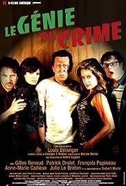 Le génie du crime Poster