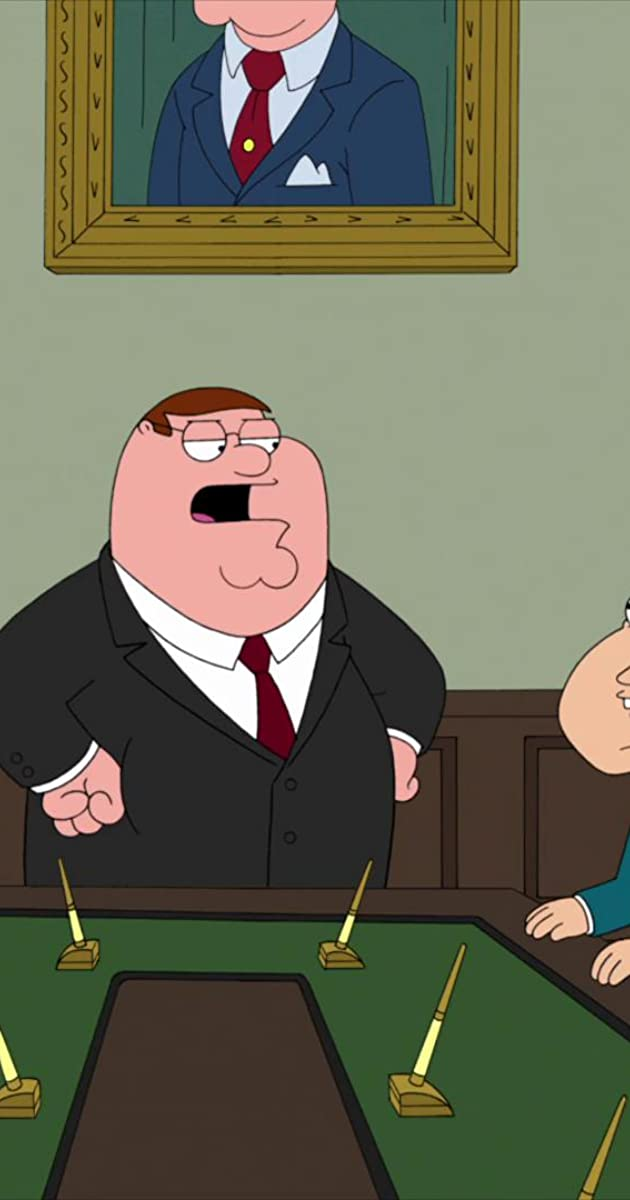 family guy investment banker daddys home