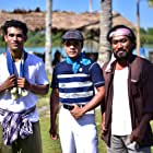 Remy Ishak, Akmal Ahmad, and Naza Abdul Manas in Pulang (2018)