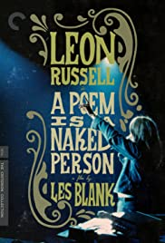 A Poem Is a Naked Person (1974) starring Leon Russell on DVD on DVD