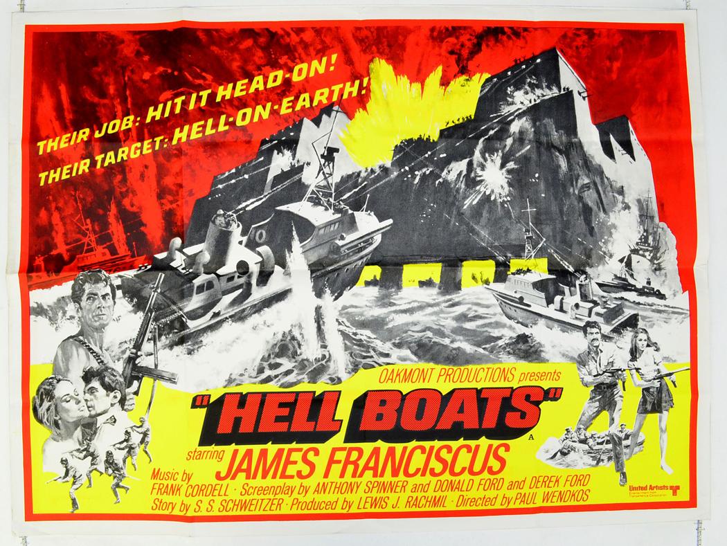 War Movie : Hell Boats 1970 ( Full Film )