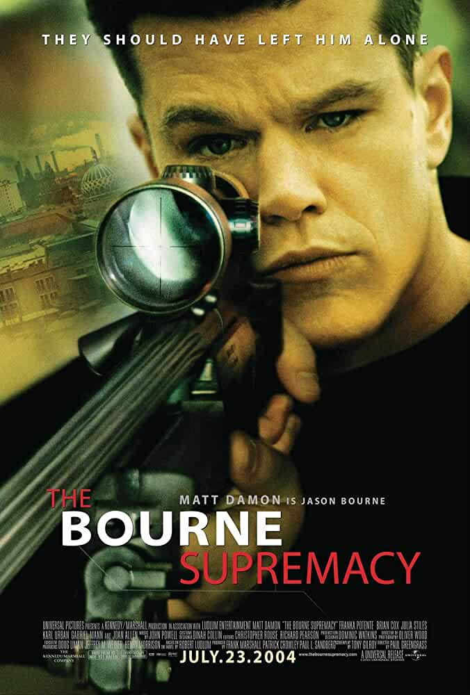 The Bourne Supremacy (2004) Dual Audio [Hindi + English] | x264 Bluray | 720p | 480p | Download | Watch Online | GDrive | Direct Links