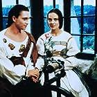 Michal Dlouhý and Mária Podhradská in Sedmero krkavcu (1993)