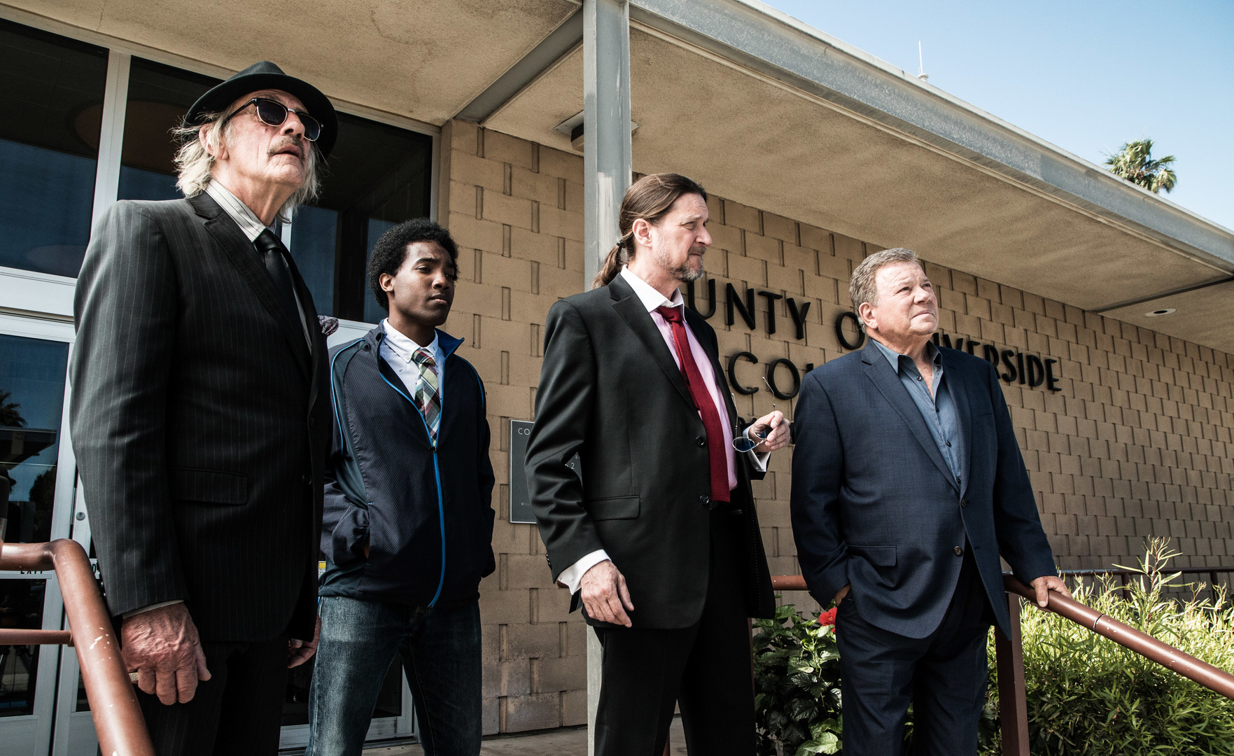 Christopher Lloyd, William Shatner, Don McManus, and Kal Smith in Senior Moment (2021)