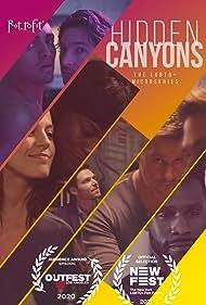 Jeremy Glazer, Jamie Renée Smith, Jackson Davis, Sufe Bradshaw, Sean Samuels, Brant Rotnem, and Tonatiuh in Hidden Canyons (2020)