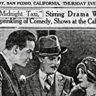 Helene Costello, Antonio Moreno, and William Russell in The Midnight Taxi (1928)