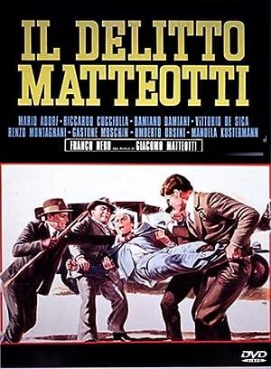 poster Il delitto Matteotti