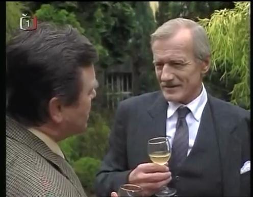 Radoslav Brzobohatý and Václav Postránecký in Ortel (2000)
