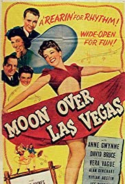 Moon Over Las Vegas Poster