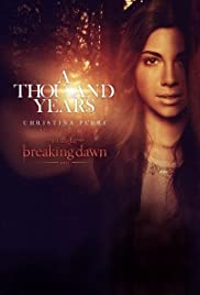 Christina Perri A Thousand Years Poster