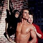 Kim Crosby and Joe Lara in Tarzan in Manhattan (1989)
