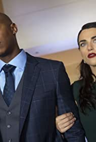 Mehcad Brooks and Katie McGrath in Supergirl (2015)