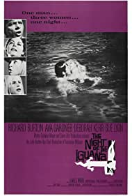 Richard Burton, Deborah Kerr, Ava Gardner, and Sue Lyon in The Night of the Iguana (1964)