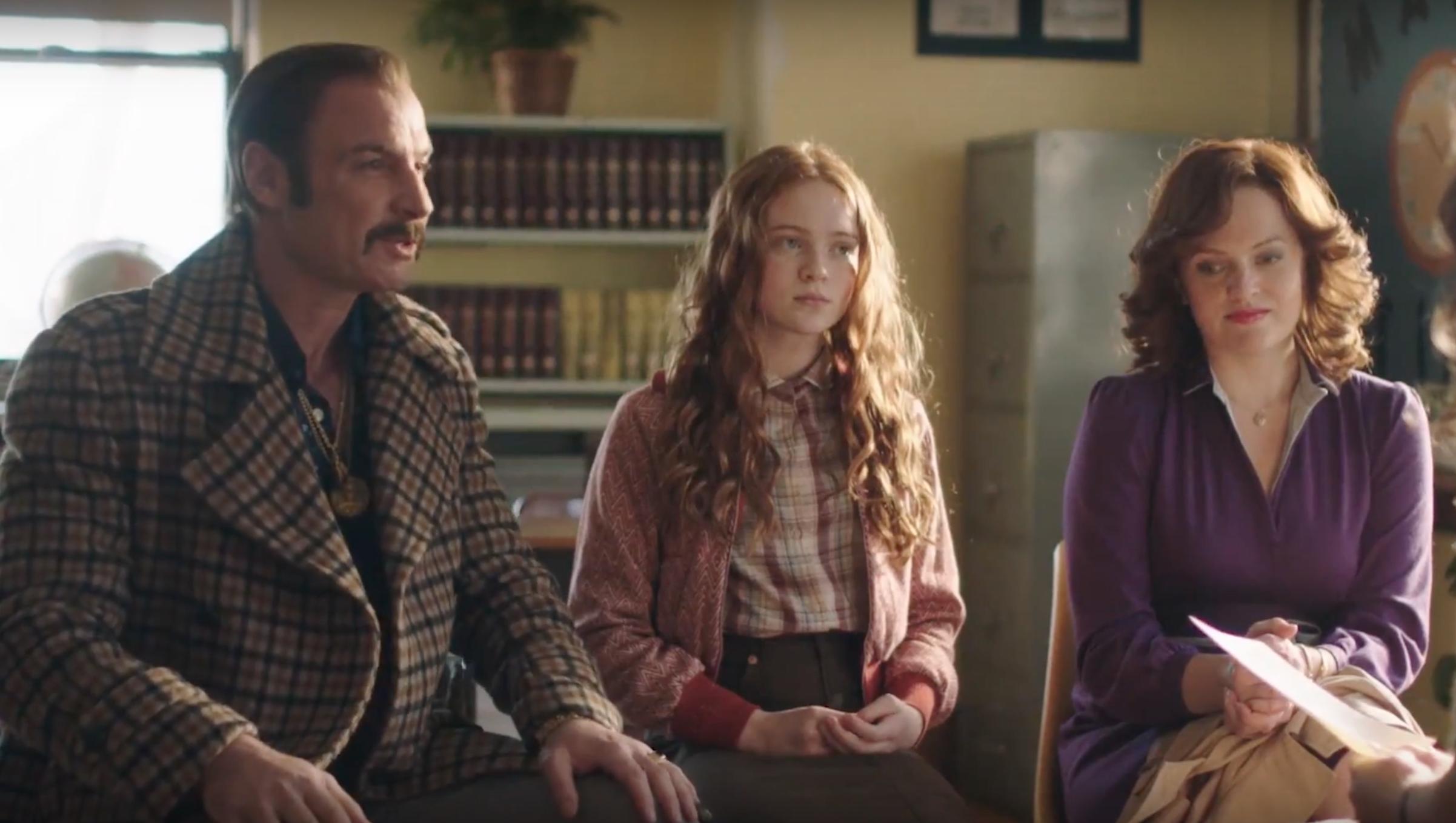 Liev Schreiber, Elisabeth Moss, and Sadie Sink in The Bleeder (2016)