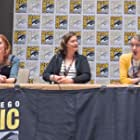 Speaking on a panel for Dungeons and Derrick at the Comic-Con International Film Festival (2019)