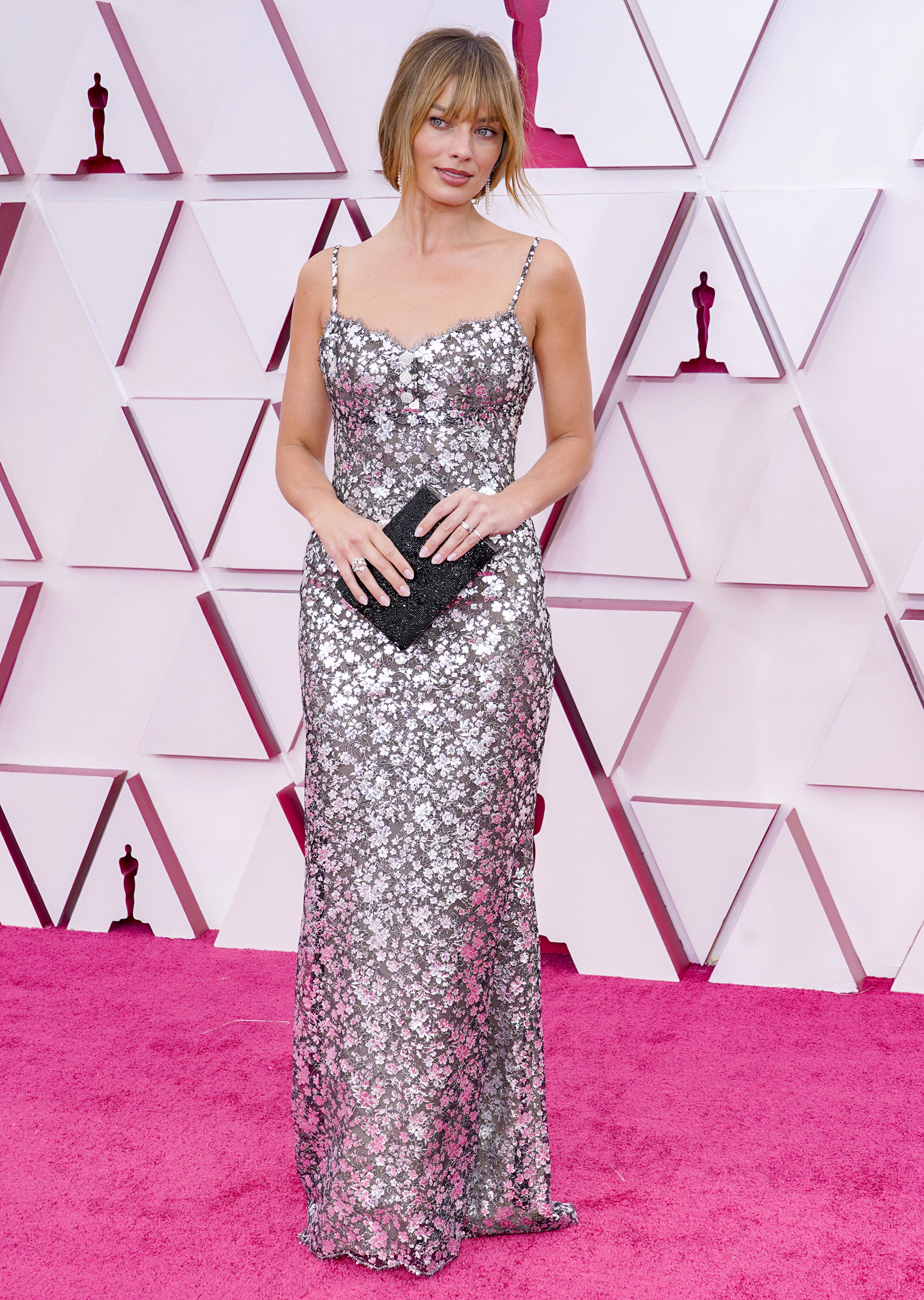 Margot Robbie at an event for The 93rd Oscars (2021)