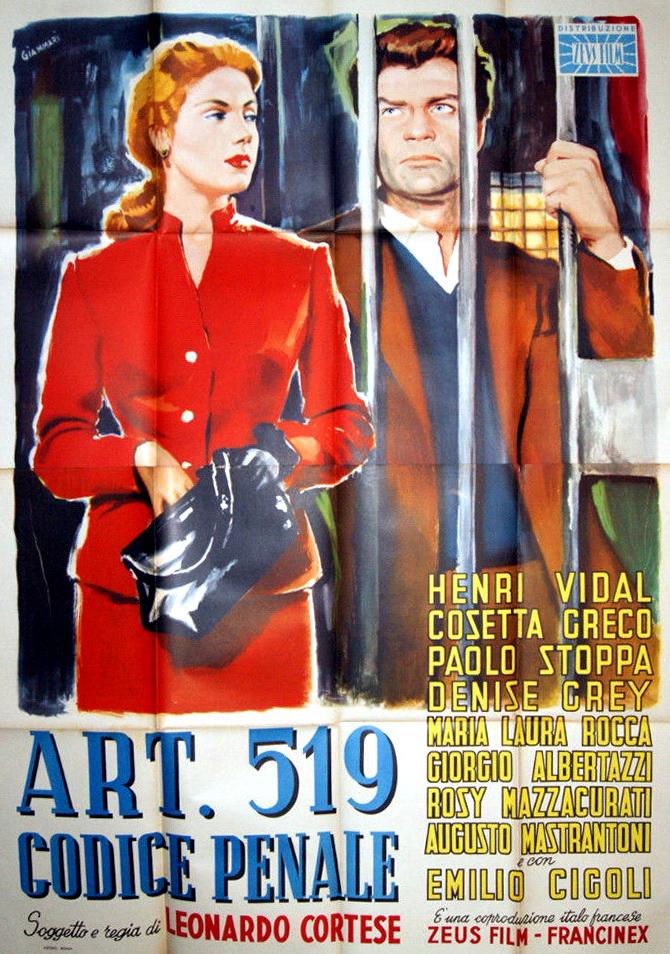 Art. 519 codice penale (1952)