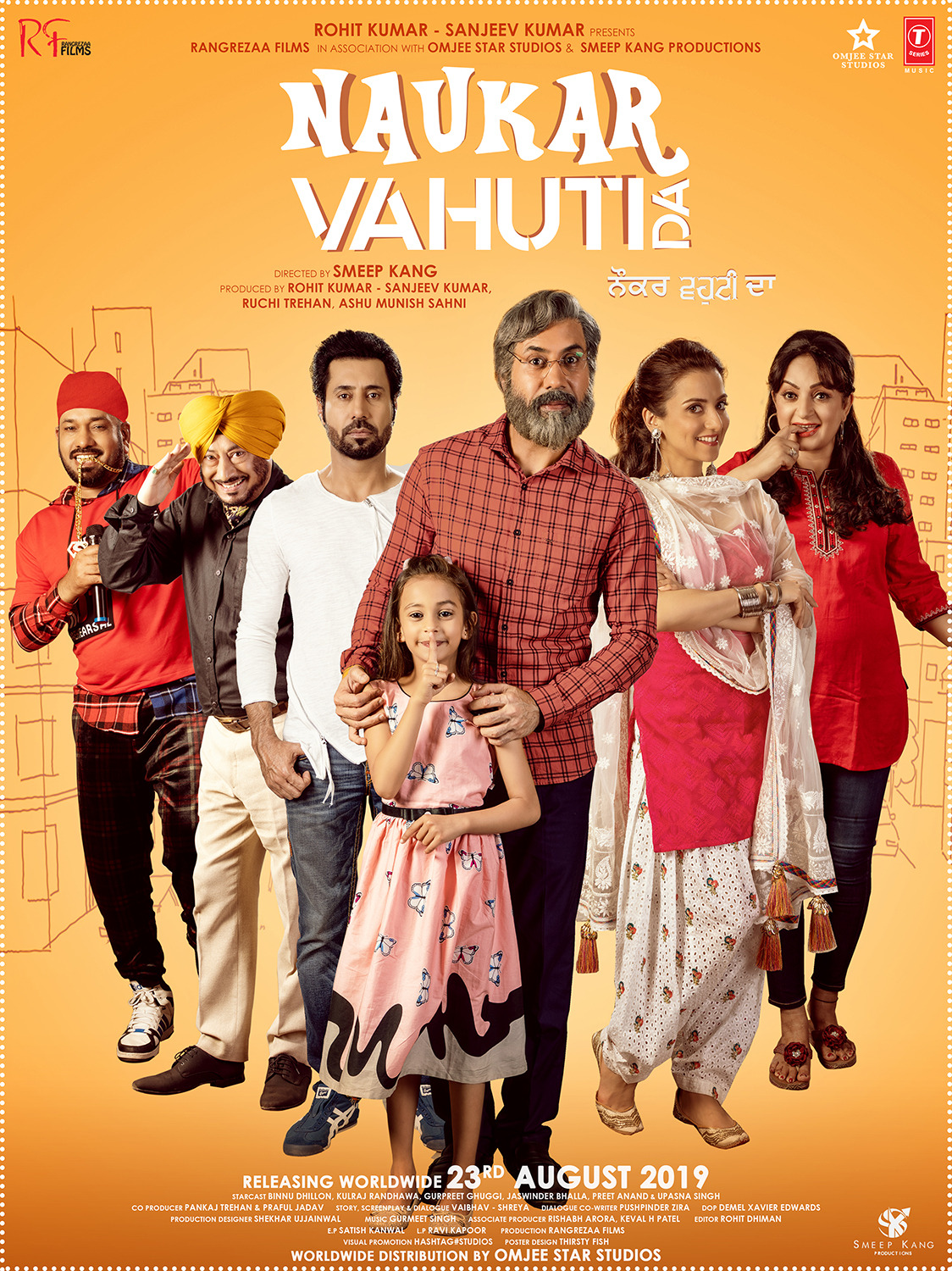Naukar Vahuti Da (2019) Punjabi Movie 480p HDRip x264 450MB