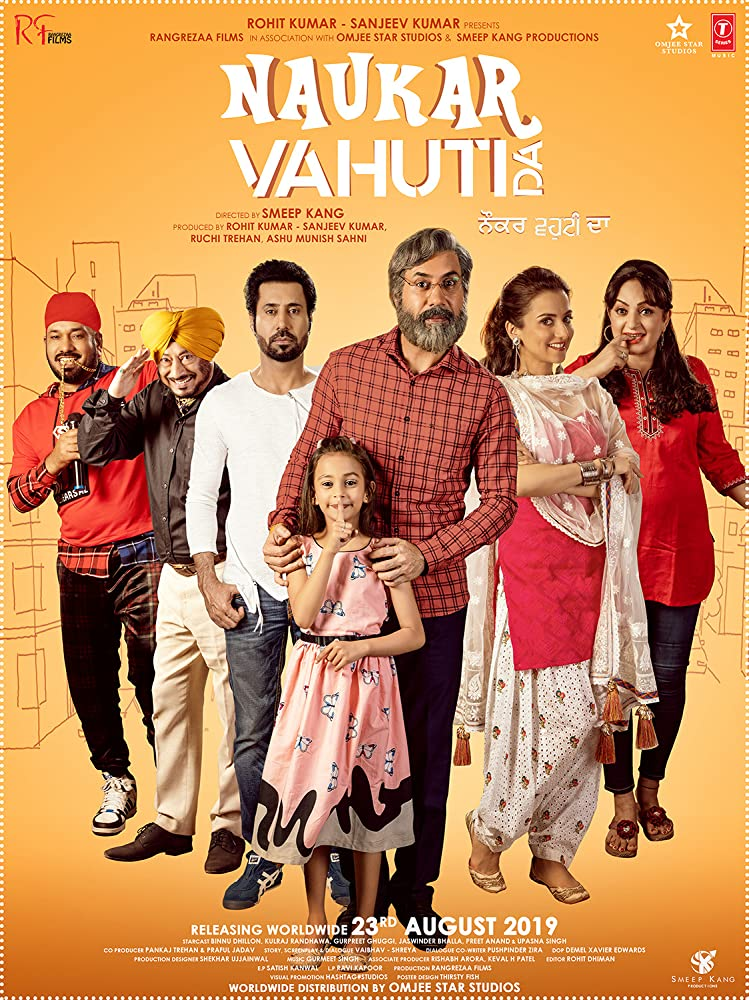 Naukar Vahuti Da 2019 Punjabi 720p HDRip 800MB ESubs Download