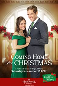 Danica McKellar and Neal Bledsoe in Coming Home for Christmas (2017)