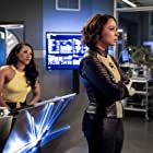 Jessica Parker Kennedy and Candice Patton in The Flash (2014)