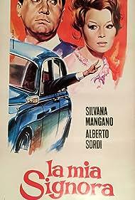 Silvana Mangano and Alberto Sordi in La mia signora (1964)