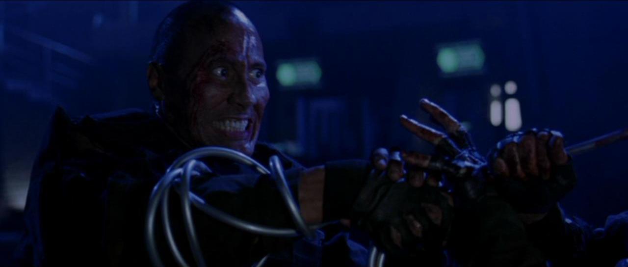 Dwayne Johnson in Doom (2005)