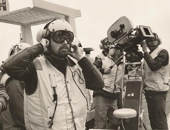 Caleb Deschanel and Philip Kaufman in The Right Stuff (1983)