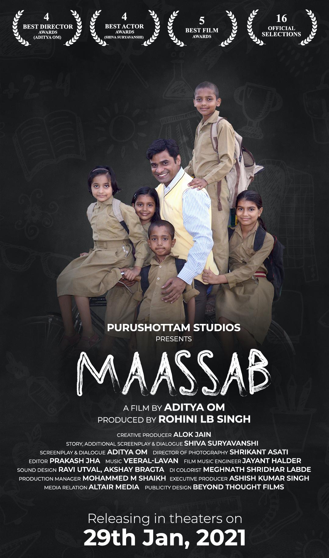 Maassab (The Teacher) 2018 Hindi Movie HDRip x264 AAC 400MB Download