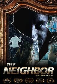 Nathan Clarkson, Dave Payton, Jessica Koloian, and Michael Johnson in Thy Neighbor (2018)